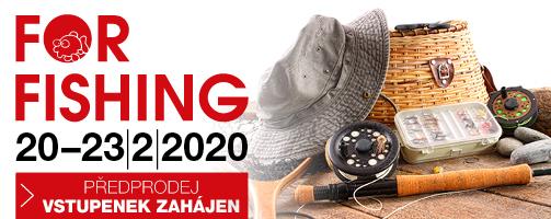 Veletrh For Fishing startuje už ve čtvrtek!