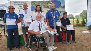 Je to tam! Radim Kozlovský se stává mistrem světa v plavané handicapovaných rybářů
