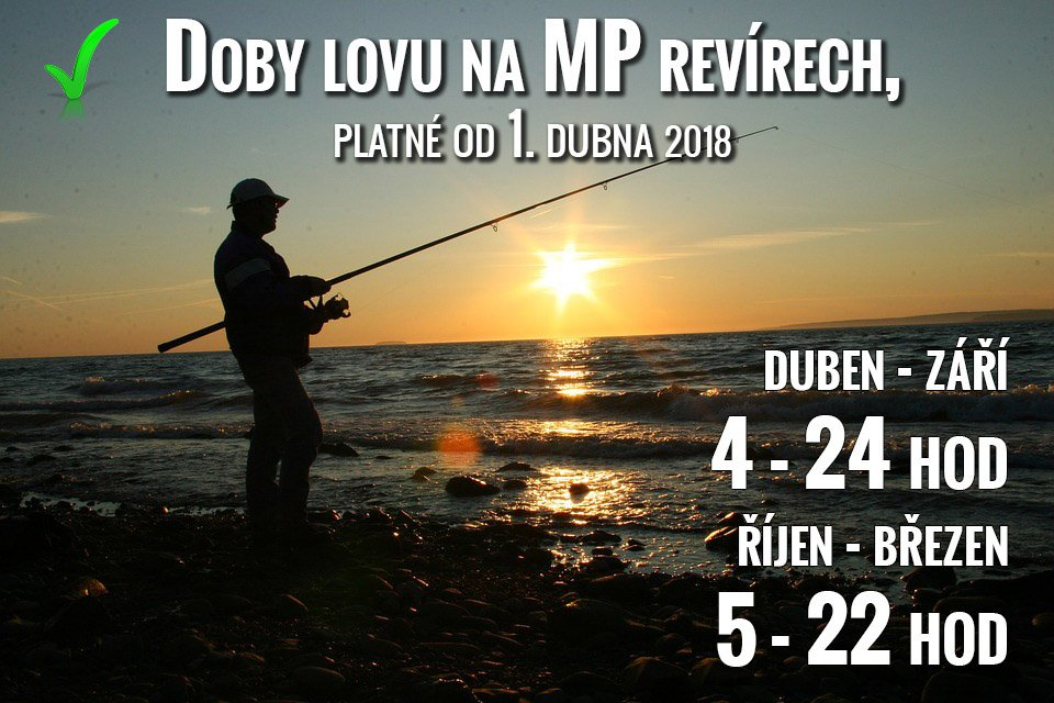 Denní doby lovu na MP revírech