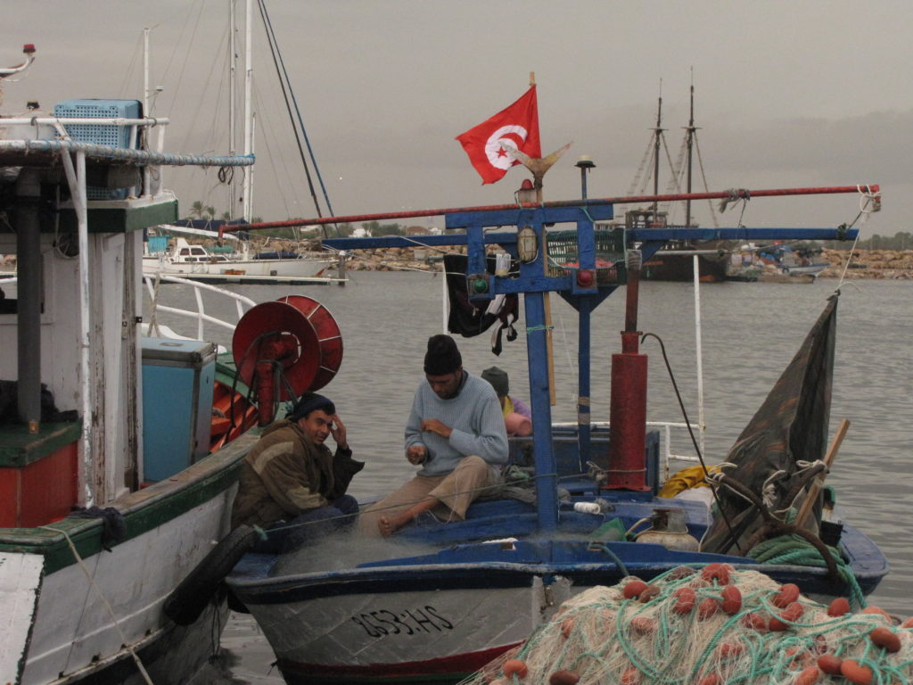 OBRAZEM: Moře ostrova Džerba