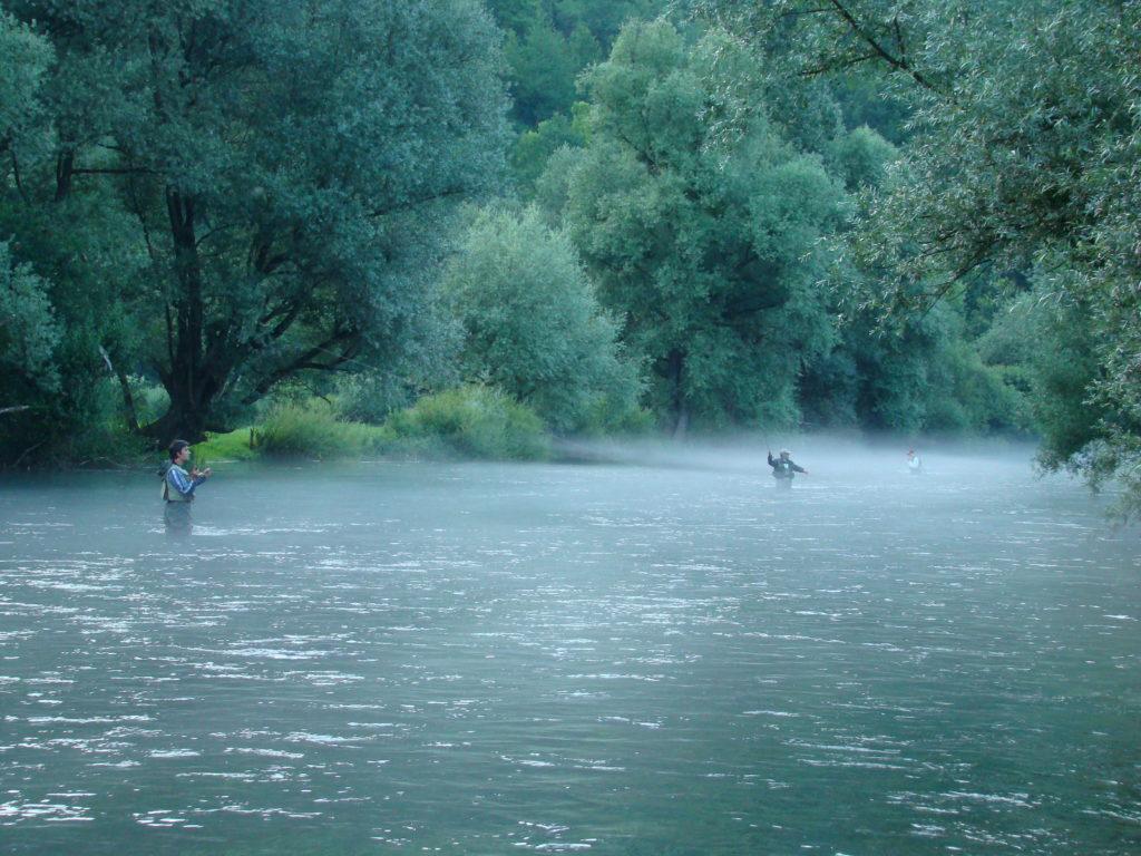 Na rybách v Bosně a Hercegovině