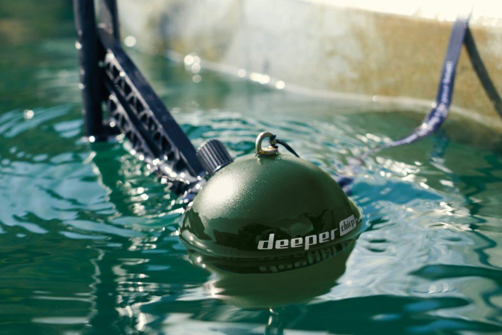 Předvánoční soutěž o sonar Deeper Chrip+