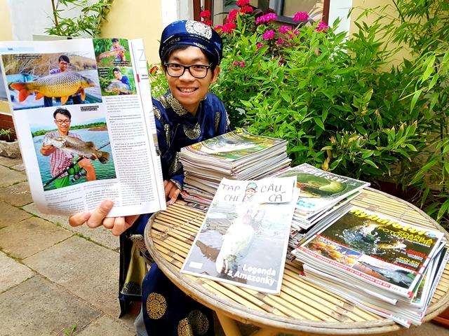 Šonova hodina rybářské vietnamštiny: Tạp chí câu cá [tap-či-kouká] = Rybářství