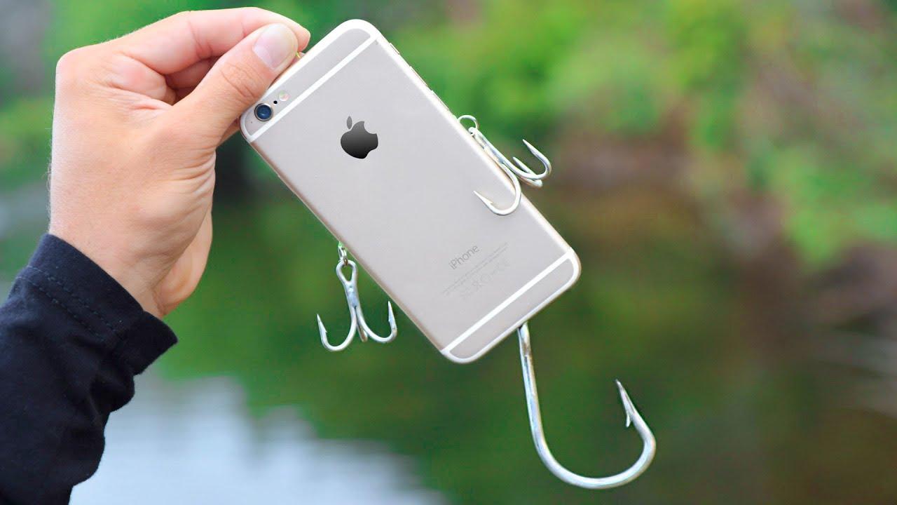 Nevíte, co s rozbitým iphonem? Použijte ho jako nástrahu