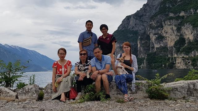 Šonovo rybaření na italském jezeře Garda