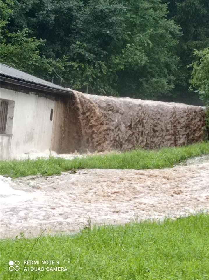 Povodeň poničila líheň v Děčíně, členové místní MO nepomohli