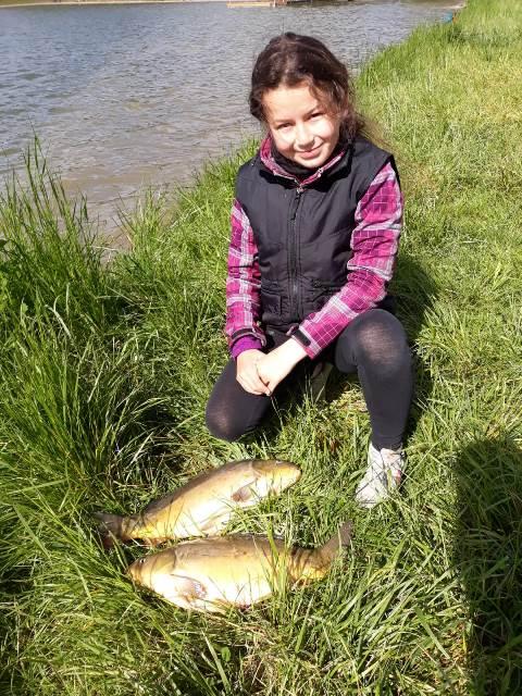 Zářijové Rybářství: Výpravy juniorů za rybami