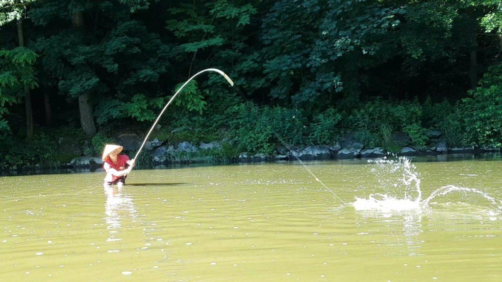 Šonovo rybaření s bambusem