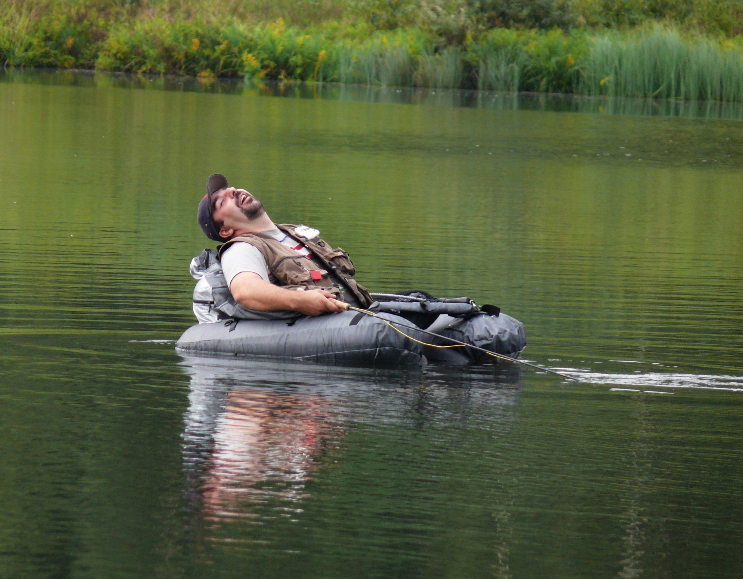 Bellyboat, křeslo pro pohodáře