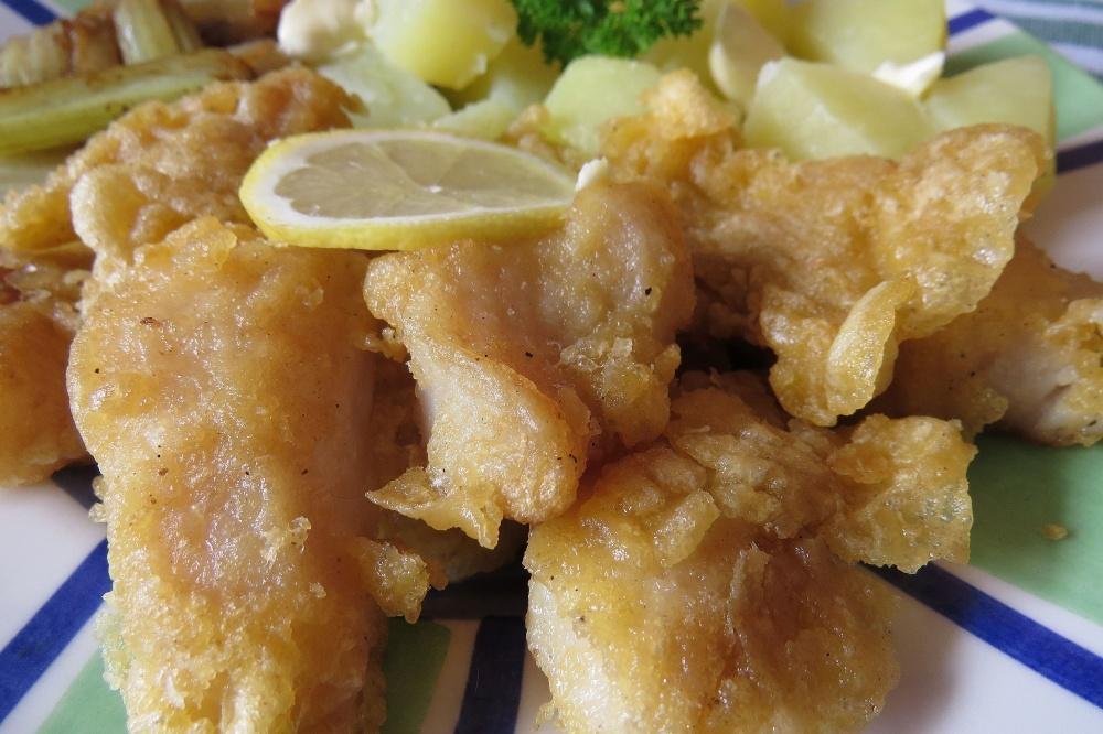Ryba v žloutkovém těstíčku podle japonské kuchyně