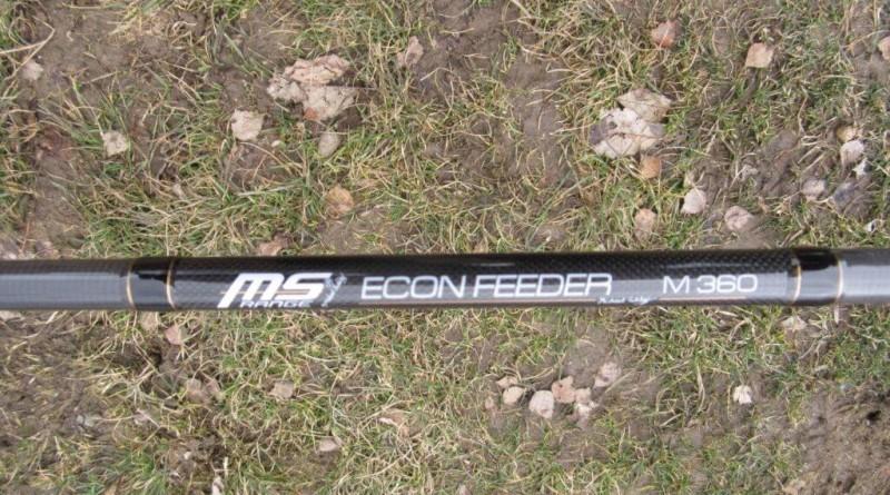 Recenze: Prut MS Range Econ Feeder M 3,6m 80g