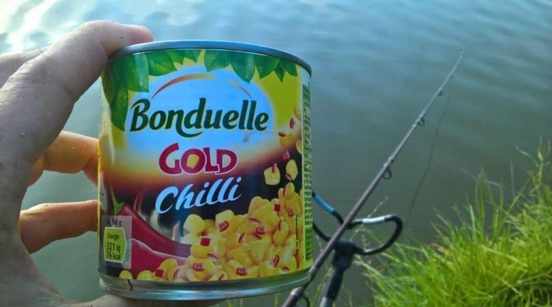 Tajný tip na velké kapry: chilli bonduelka