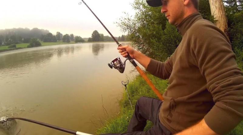 Video: menší kapřík na feeder