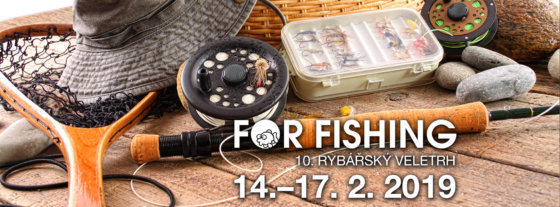 For Fishing 2019: desátý ročník rybářského veletrhu v Praze