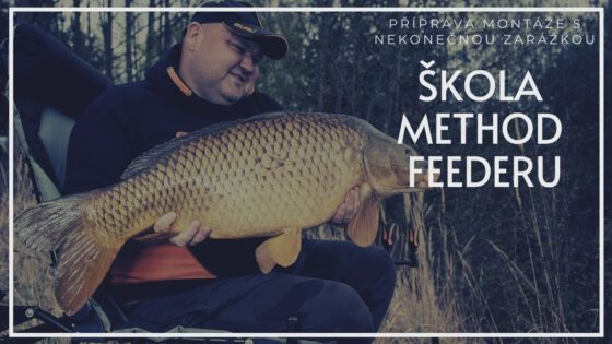 Škola Method Feederu: Jak navázat nekonečnou zarážku pro method feeder lov