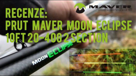 Video recenze: Prut Maver Moon eclipse 10FT 20-40G 2 section