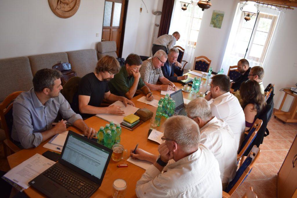 Společné jednání zástupců ČRS, MRS, Rybářského sdružení a Ministerstva zemědělství