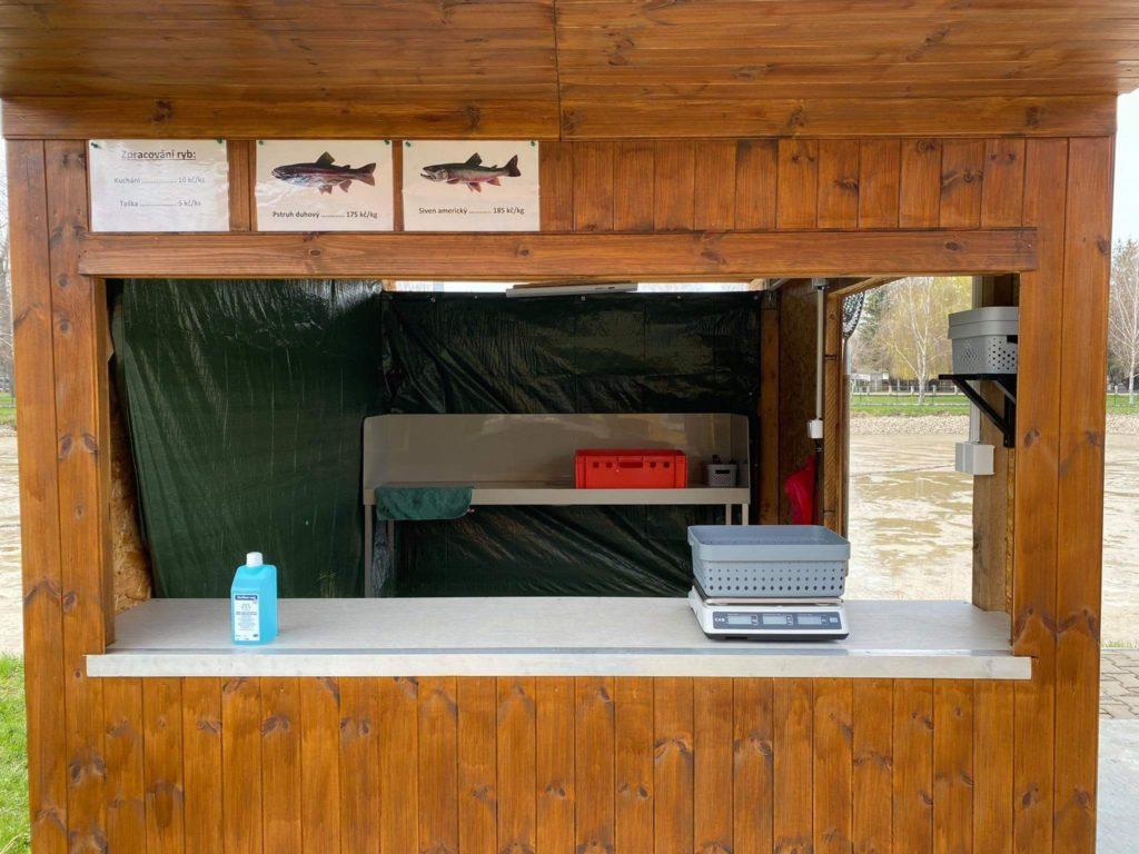 Prodej ryb na rybochovném zařízení v Dašicích zahájen