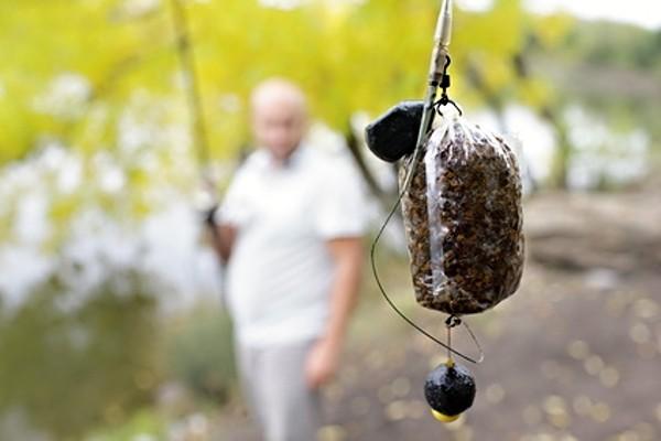 PVA sáček - zakrmení ryb