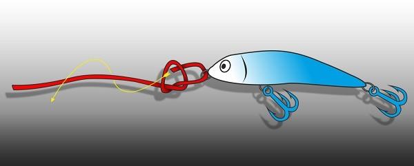 Rapala uzel - postup - obrázek 1