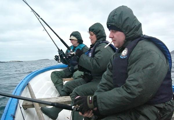 Pilkrování na lodi, počasí si nevybereme!