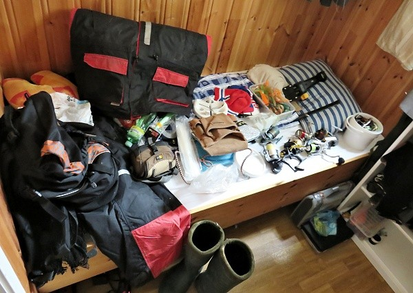 Chytání v Norsku - výbava