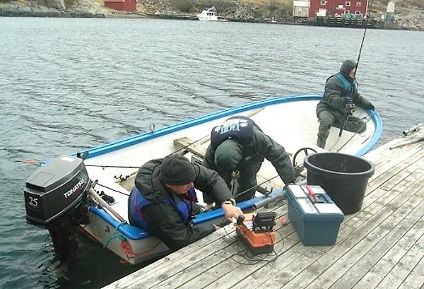 Příprava na lov - nástup na loďku