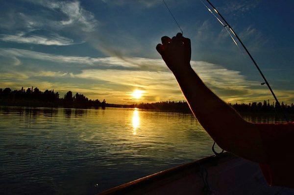 Chytání ryb za tmy, adrenalin, romantika ...