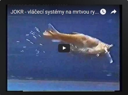 Jokr - vláčecí vodítko na mrtvou rybku.
