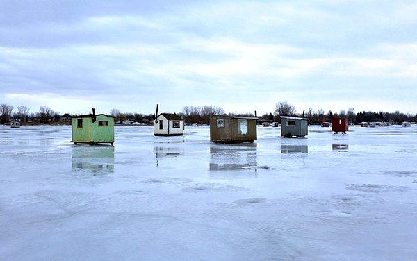 Ice fishing v zahraničí
