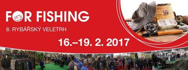 Veletrh For-fishing Praha 2017