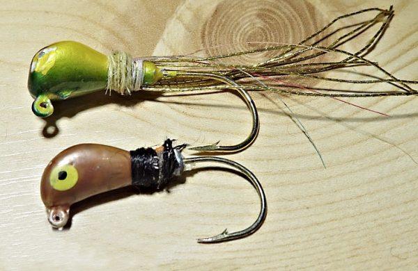 Jigové hlavy jsou marmyškám nejvíc podobné, někdy se nazývají jigové marmyšky
