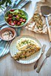Candát-v-bylinkové-strouhance-s-bramborovým-pyré-a-zeleninou4