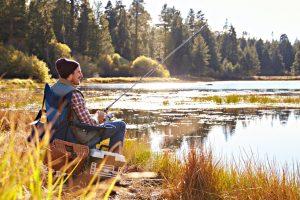 rybaření-rybník