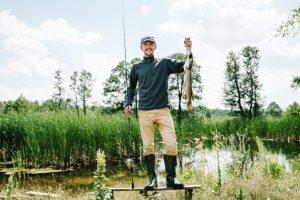 rybář-štika